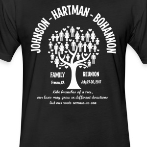 JHB FAMILY REUNION - Fitted Cotton/Poly T-Shirt by Next Level