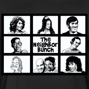 Neighbors Bunch - Fitted Cotton/Poly T-Shirt by Next Level