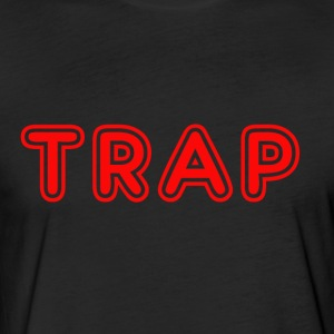 TRAP DESIGN - Fitted Cotton/Poly T-Shirt by Next Level