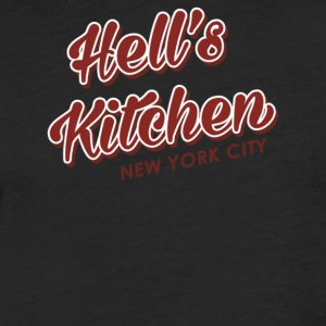 Hell s Kitchen - Fitted Cotton/Poly T-Shirt by Next Level