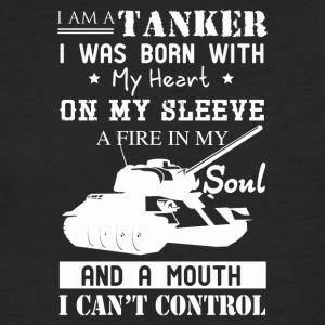 I'm A Tanker Tee Shirt - Fitted Cotton/Poly T-Shirt by Next Level