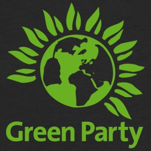 Green Party - Fitted Cotton/Poly T-Shirt by Next Level