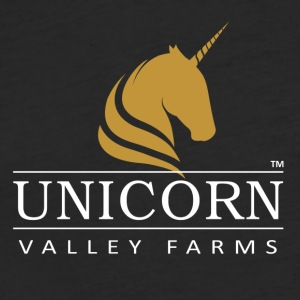 Unicorn Valley Farms - Fitted Cotton/Poly T-Shirt by Next Level