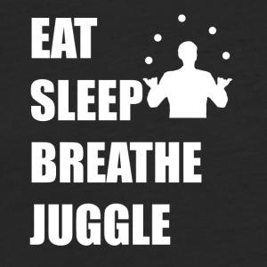 Eat Sleep Breathe Juggle - Fitted Cotton/Poly T-Shirt by Next Level