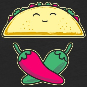 Jolly Taco - Fitted Cotton/Poly T-Shirt by Next Level