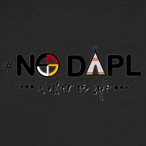 #NODAPL - Fitted Cotton/Poly T-Shirt by Next Level
