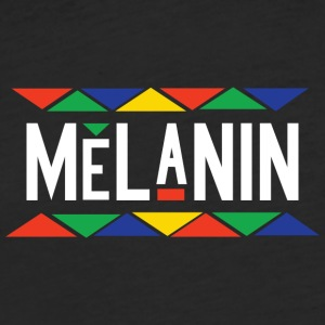 Melanin - Fitted Cotton/Poly T-Shirt by Next Level