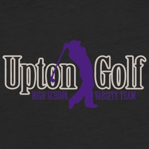 Upton Golf High School Varsity Team - Fitted Cotton/Poly T-Shirt by Next Level