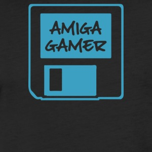 Amiga Inspired - Fitted Cotton/Poly T-Shirt by Next Level