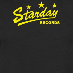 Starday Records - Fitted Cotton/Poly T-Shirt by Next Level