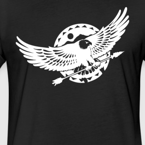 Bald Eagle - Fitted Cotton/Poly T-Shirt by Next Level