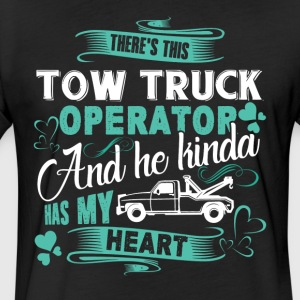 Tow Truck Operator Shirt - Fitted Cotton/Poly T-Shirt by Next Level