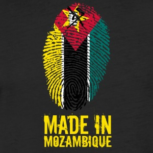 Made In Mozambique - Fitted Cotton/Poly T-Shirt by Next Level