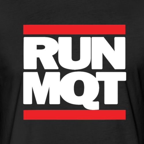 Run MQT - Fitted Cotton/Poly T-Shirt by Next Level
