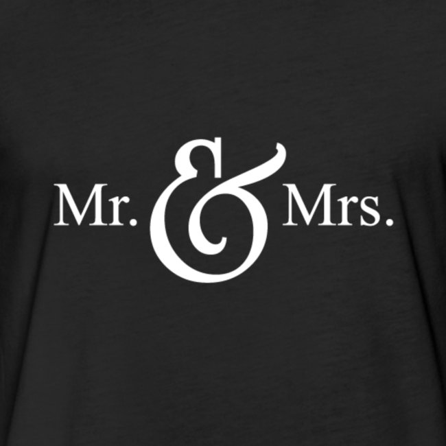 MR.& MRS . TEE SHIRT