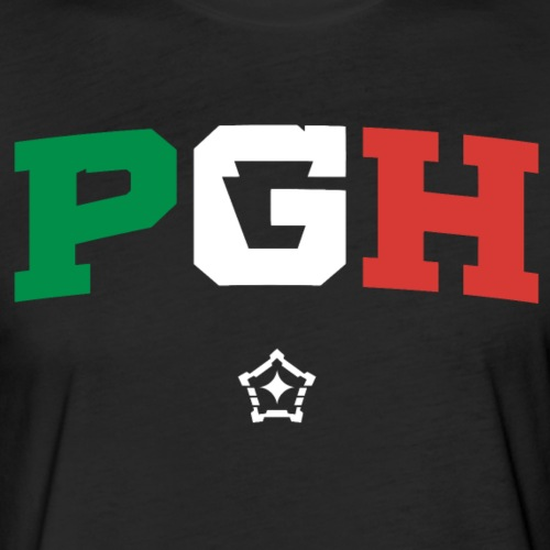 PGH_Italy - Fitted Cotton/Poly T-Shirt by Next Level