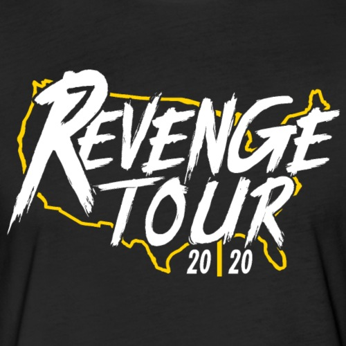 Pittsburgh Revenge Tour 2020 - Fitted Cotton/Poly T-Shirt by Next Level