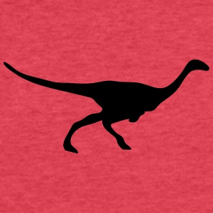 Dinosaur vector Silhouette - Fitted Cotton/Poly T-Shirt by Next Level