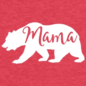 mama bear - Fitted Cotton/Poly T-Shirt by Next Level
