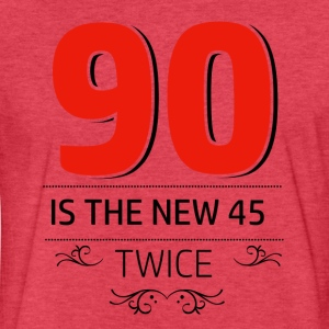 90 years and increasing in value - Fitted Cotton/Poly T-Shirt by Next Level