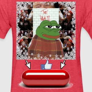 Comfy Pepe - Fitted Cotton/Poly T-Shirt by Next Level