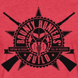Bounty Hunters Guild - Fitted Cotton/Poly T-Shirt by Next Level
