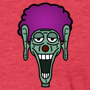 clown - Fitted Cotton/Poly T-Shirt by Next Level