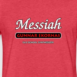 Messiah Synthesizer - Fitted Cotton/Poly T-Shirt by Next Level