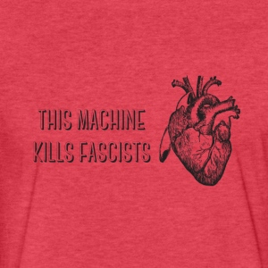 Love Trumps Fascism - Fitted Cotton/Poly T-Shirt by Next Level