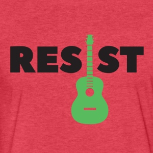Resist Acoustic - Fitted Cotton/Poly T-Shirt by Next Level