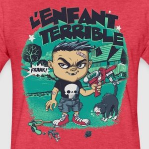 l enfant terrible - Fitted Cotton/Poly T-Shirt by Next Level