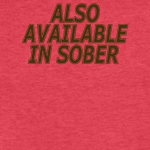 Also Available In Sober - Fitted Cotton/Poly T-Shirt by Next Level