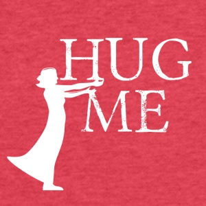 Hug me - Fitted Cotton/Poly T-Shirt by Next Level