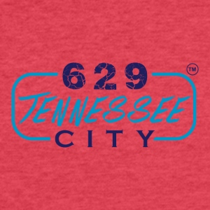 629TENNESSEE CITY10 - Fitted Cotton/Poly T-Shirt by Next Level