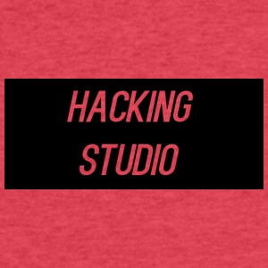 Hacking Studio Products - Fitted Cotton/Poly T-Shirt by Next Level