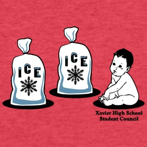 Xavier High School Student Council - Fitted Cotton/Poly T-Shirt by Next Level