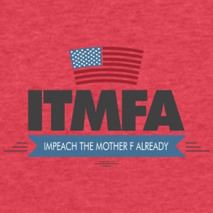 ITMFA - Fitted Cotton/Poly T-Shirt by Next Level