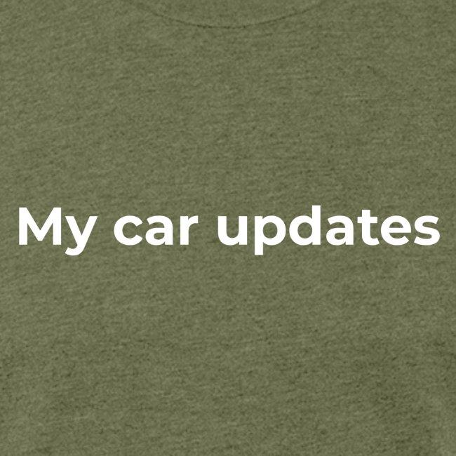 My car updates