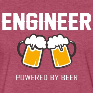 Engineer powered by beer T Shirt - Fitted Cotton/Poly T-Shirt by Next Level