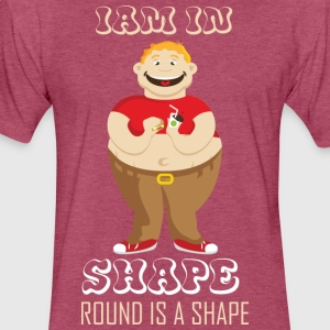 Funny Fat Guy Shirts| Funny Gym T-Shirts - Fitted Cotton/Poly T-Shirt by Next Level