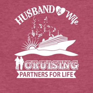Husband And Wife Cruising Partners For Life TShirt - Fitted Cotton/Poly T-Shirt by Next Level