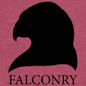 Falconry - Fitted Cotton/Poly T-Shirt by Next Level