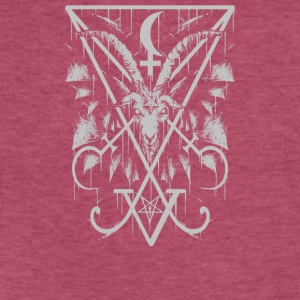 Sigil of Lucifer and Baphomet - Fitted Cotton/Poly T-Shirt by Next Level