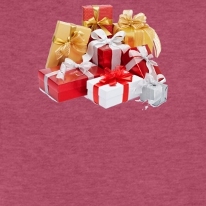 Gift Christmas - Fitted Cotton/Poly T-Shirt by Next Level