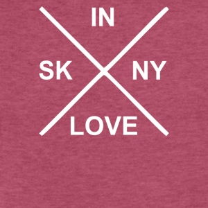 Bon Iver Skinny Love - Fitted Cotton/Poly T-Shirt by Next Level