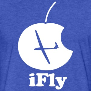 ifly gliding - Fitted Cotton/Poly T-Shirt by Next Level