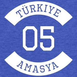 turkiye 05 - Fitted Cotton/Poly T-Shirt by Next Level