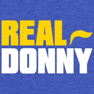 Real Donny - Fitted Cotton/Poly T-Shirt by Next Level