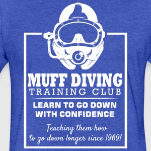 MUFF DIVER - Fitted Cotton/Poly T-Shirt by Next Level