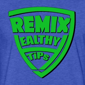7Remix Healthy Tips T-shirt - Fitted Cotton/Poly T-Shirt by Next Level